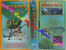 VHS film BUZZ & POPPY 3 sigillata VISTARAMA animazione PAMPERS (F67) no dvd