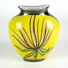 Hutschenreuther Porcelaine Vase 1000er Argent-Overlay 1948-1955 silver overlay