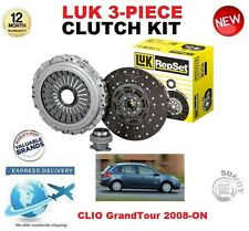 pour Renault Clio Grandtour 1.4 1.6 16V 2008 ET PLUS ORIGINAL LUK 3 pièces