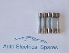 CLASSIC CAR glass fuse 32mm x 6.3mm 50 amp x 5 for LUCAS 4FJ 6FJ 7FJ fuse box