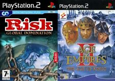 risk & age of empires 2   PS2 PAL