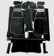 MGB Roadster Quality Black Carpet Set, Hessian Backed, OE Quality as Original