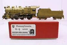 Westside Model Co. Brass HO Scale Pennsylvania RR 4-6-0 Class G5s Japan