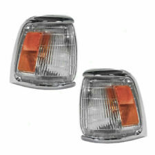 FITS FOR 1989 - 1991 TY PICKUP CORNER LIGHTS RIGHT & LEFT PAIR SET