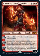 FOIL CHANDRA, FLAME'S CATALYST ~mtg NM M21 Magic 2021 Mythic x1