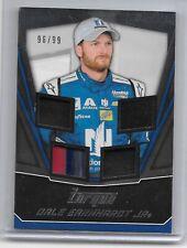 2017 TORQUE QUAD MATERIALS 96/99 DALE EARNHARDT JR. NASCAR RACING VERY NICE CARD