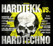 CD Hardtekk Vs. Hardtechno Von Various Artists 2cds