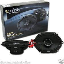 "INFINITY 682.11cf KAPPA 6x8"" 2 WAY CAR AUDIO COAXIAL SPEAKERS PAIR 6 x 8"""