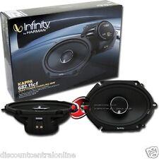 "INFINITY 682.11cf KAPPA 5 x 7"" / 6 x 8"" 2 WAY CAR AUDIO COAXIAL SPEAKERS PAIR"