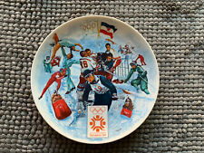 THE OFFICIAL 1984 WINTER OLYMPIC GAMES PLATE No. 5842A  Sarajevo, by Viletta