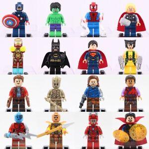 16Pcs MINI Super Heroes LEGO Minifigures Marvel Avengers Infinity War Figures