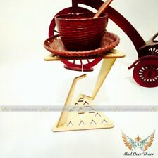Desktop Decorative MDF Wood Floating In The Air Tensegrity Gravity Table Look