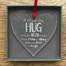 Personalised Lockdown Friendship Long Distance Relationship Decoration Gifts