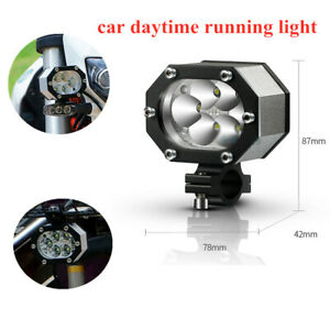 1x Motorcycle Off-road Bumper SUV Truck Work Lights Spot Flood 6LED Lamp Beads