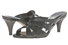 Easy Street Alive at 5 Five Dance Flex Francine II Black Glitter Sandals Shoes 7