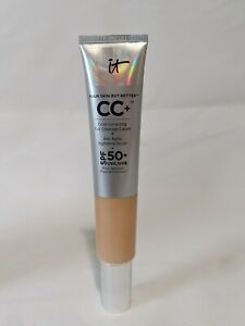 it Cosmetics CC+ 2.53 oz Color Correcting Anti-Aging Cream SPF 50  Without Box