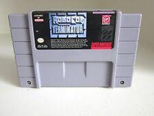 RoboCop vs. The Terminator Nintendo SNES  Game only