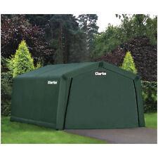 Clarke Cig81015 Heavy Duty Instant Garage - Dark Green (4.5x3x2.4m) 3503570