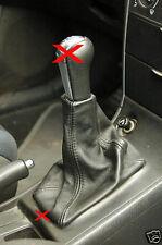 Ajustes de Toyota Corolla E12 01-2006 Gear polaina De Cuero Negro