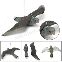 Flying Bird Hawk Pigeon Hard Decoy Garden Plant Scarer Pest Hunting Shooting New