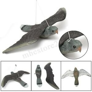 Flying Bird Hawk Pigeon Hard Decoy Garden Plant Scarer Pest Hunting Shooting