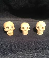 natural Quartz Stone gemstone carved skull Unpolished