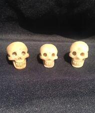 natural Quartz Stone gemstone carved skull Unpolished