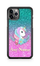 Unicorn Floral Design Phone Case Cover For iPhone 11 Pro Samsung A20 LG Google