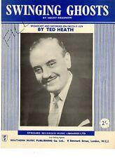 Sheet Music & Lyrics - Ted Heath - Swinging Ghosts