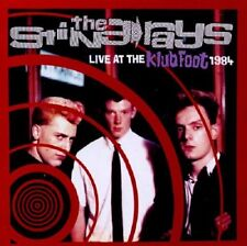 The Sting Rays Live At The Klub Foot 1984 CD NEW SEALED Psychobilly
