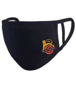 Lion and Wheel British Rail Reusable Washable Face mask/Covering - Black