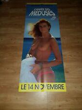 Affiche de cinéma d'époque du film: L'ANNEE DES MEDUSES de 1984 (60x160cm)
