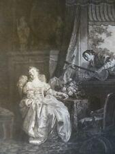 Moreau Jean-Michel L'Amour à l'Espagnol  XVIII retirage XXe France