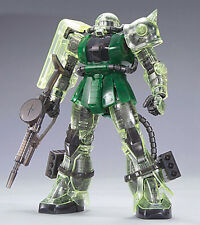 Bandai MG 1:100 Zaku II MS-06J Gunpla Gundam Expo Limited Clear Color Ver Model