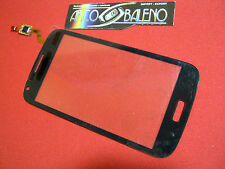 VETRO+TOUCH SCREEN per SAMSUNG GALAXY CORE DUOS GT i8260 display BLUE BLU COVER