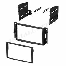 2005-2009 HUMMER H3 H3T DOUBLE DIN DASH KIT CAR STEREO RADIO CD INSTALL MOUNT