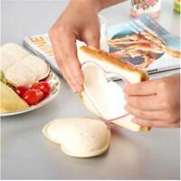 DIY Heart Shape Sandwich Cake Bread Toast Tool Craft Maker Mold Cutter KI