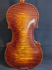 Strad style SONG professional Concert violin 4/4 Flames one-piece back 11830