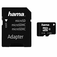 32GB Micro SD SDHC Card & Adapter For Mobile Phone Tablets Cameras Dashcam 80mbs
