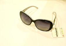 Occhiali da sole Sunglasses Polaroid F 8411 A NERO 80S IX 100% UV POLARIZZATO