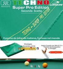 Panno biliardo 5 birilli Longoni Techno Super Pro Edition seconda scelta cm.305