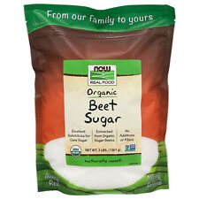 NOW Foods Beet Sugar, Organic, 3 lbs.
