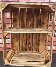 Wooden crate for shoe