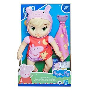 Baby Alive GOODNIGHT PEPPA PIG Baby Doll BOOK PACIFIER Outfit Costume WASHABLE!!