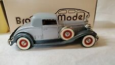 Brooklin Models No.6 1932 Packard Light 8 Coupe/Roadster in Silver New In Box