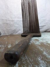 Primitive Two Pitch Horn, Wood  Wool Comb, Card, Carding, 19th Century