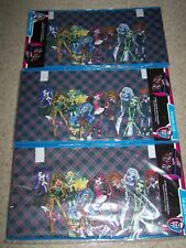 Lot of 3 MONSTER HIGH Collapsible Toy STORAGE TRUNKS 16 x 30 x 14.5 NEW