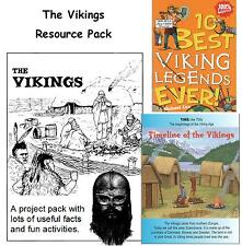 VIKING LIFE and TIMES PROJECT PACK - KS2 History Resource