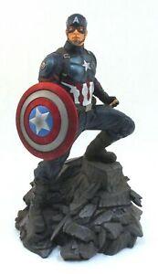 """CAPTAIN AMERICA Avengers Endgame 10"""" Statue #1546/3000 w/COA Diamond Select"""