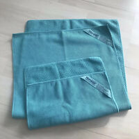 NORWEX Turquoise Textured Kitchen Towel And Cloth Set of 2